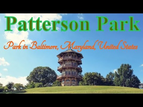 Visiting Patterson Park, Park in Baltimore, Maryland, United States