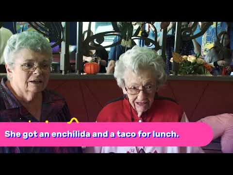 Christina Martinez - Taco Bell Throws Surprise BDAY Party For 106 YO!