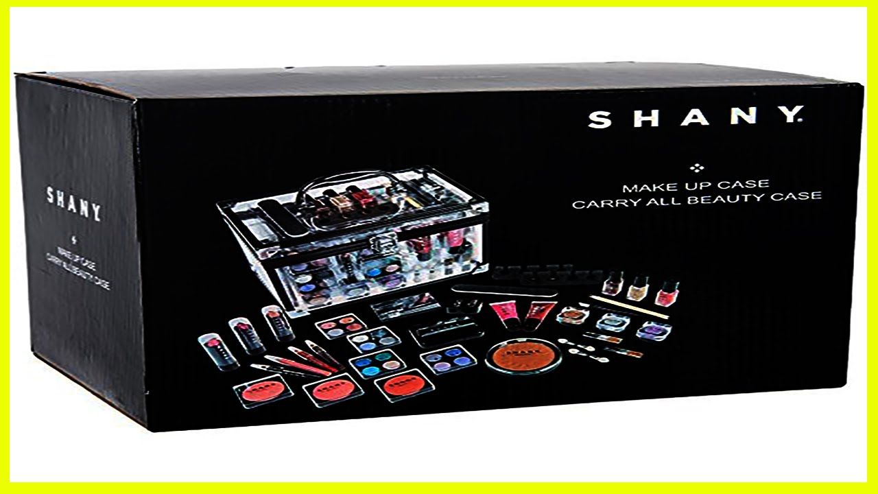 professional makeup kits from shany cosmetic black
