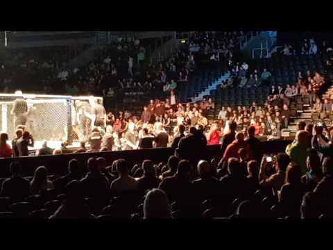 UFC Belfast 2016 - Charlie Ward Entrance