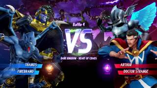 MARVEL VS. CAPCOM: INFINITE Thanos,Firebrand Gameplay In Arcade Mode