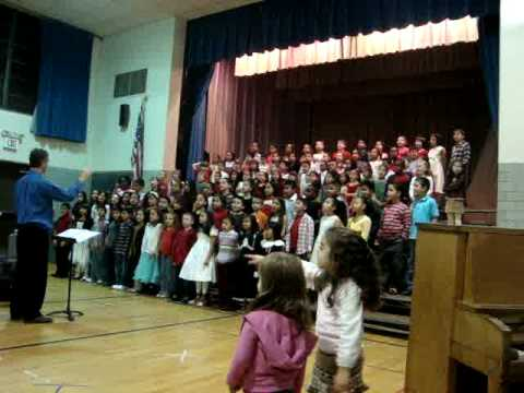 Christmas Chorus Roberts Avenue School