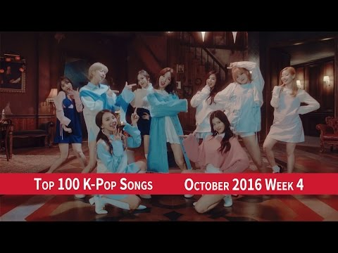 [TOP 100] K-POP SONGS CHART – OCTOBER 2016 WEEK 4