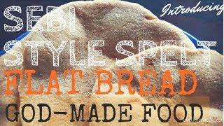 How To Make Sebi Alkaline God-Made Grains Flat Bread *Sodawater NOT YEAST!