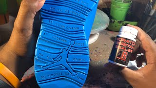 How To Protect Your Custom Soles!!