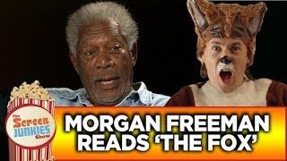 摩根費里曼挑戰〈狐狸怎麼叫〉(中文字幕)