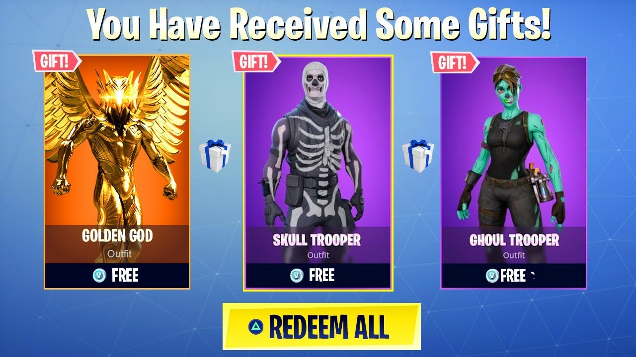 How to GIFT/TRADE SKINS in SEASON 5 Fortnite! (Gifting System)