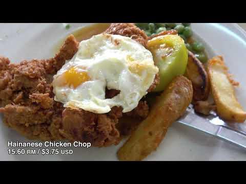 Malaysia Street Food Fish Head Curry