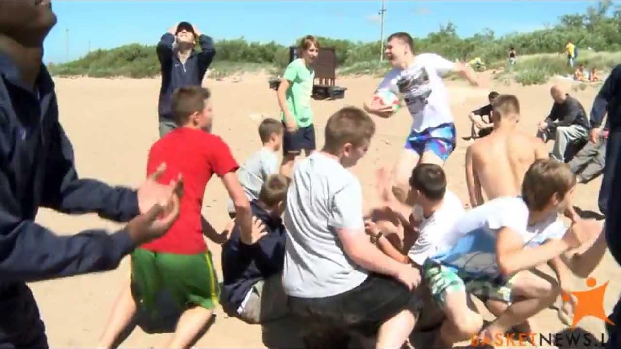 Jaunieji krepšininkai sportavo BasketNews.lt vasaros stovykloje