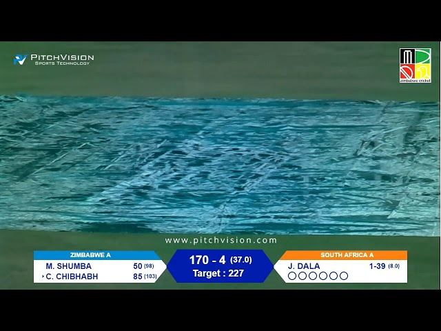 Zimbabwe A vs South Africa A | 3rd One Day