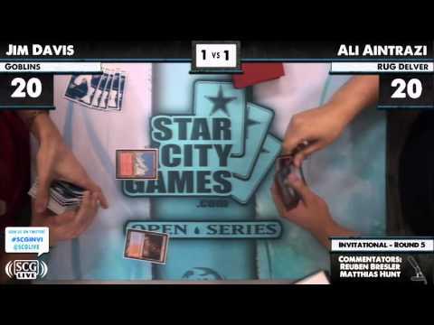 Ali Aintrazi vs Jim Davis SCGINVI Legacy