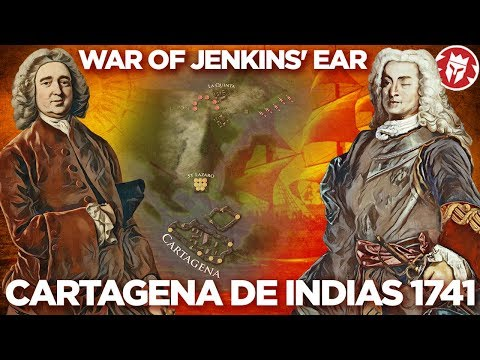 Battle of Cartagena de Indias 1741 - Anglo-Spanish War DOCUMENTARY