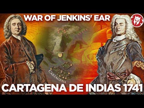 Battle of Cartagena de Indias 1741 - Anglo-Spanish War DOCUMENTARY