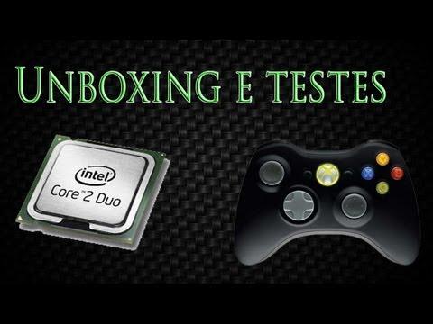 Unboxing e Teste do Processador: Intel Core 2 duo 3.16 GHz E8500