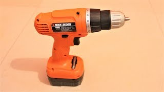 Black and Decker EPC12K2 12-Volts Cordless Drill - Unboxing