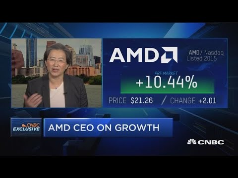 Watch CNBC's Full Interview With AMD CEO Lisa Su On Q4 Earnings Results