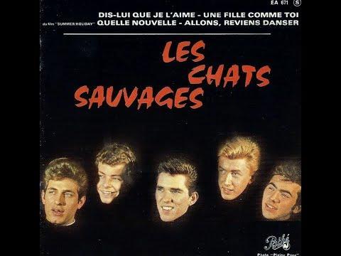 Les Chats Sauvages avec Mike Shannon    Dis lui que je l'aime           1963