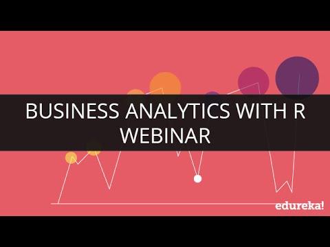 Business Analytics with R | Edureka