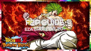 F2P Guide How to Beat Stage 20 of EZA Broly Event  DBZ Dokkan Battle