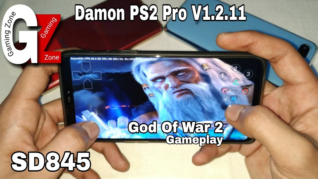 God of war 2 Gameplay in Android    Damon PS2 Pro