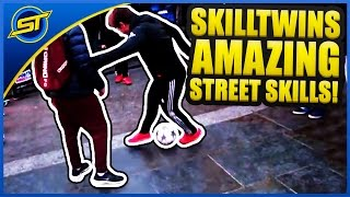 Football Amazing Street Skills/Panna/Freestyle #2 ★ SkillTwins