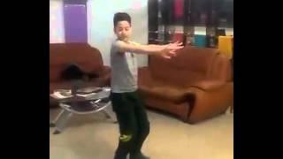 Dance of an afghani boy