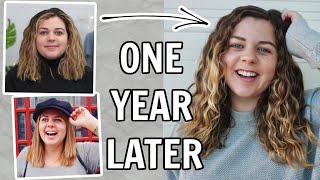 I Tried the Curly Girl Method for 1 Year (hair transformation)