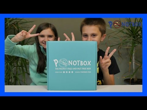 PNOT BOX MONTHLY SUBSCRIPTION BOX - PEANUT & TREE NUT FREE