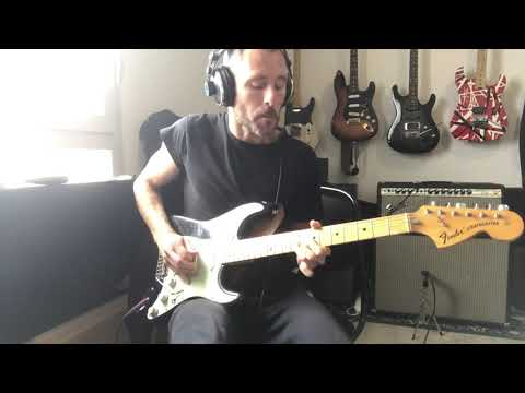 Tornade Ms pickups Strat 60s on my original 1973 Stratocaster! Concours Riff Tone Factory !