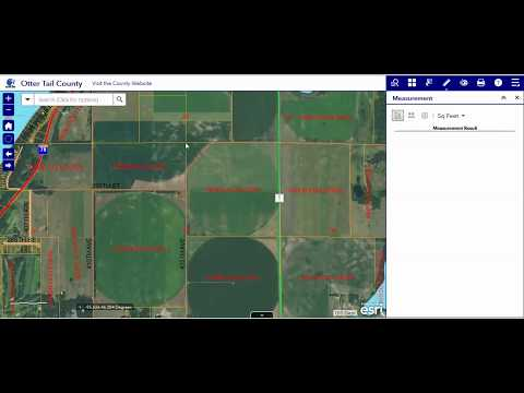 7 Measure Tool - Otter Tail County, MN GIS Web App
