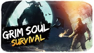 ПЕРВЫЙ БОСС - ПАВШИЙ РЫЦАРЬ ● Grim Soul: Survival