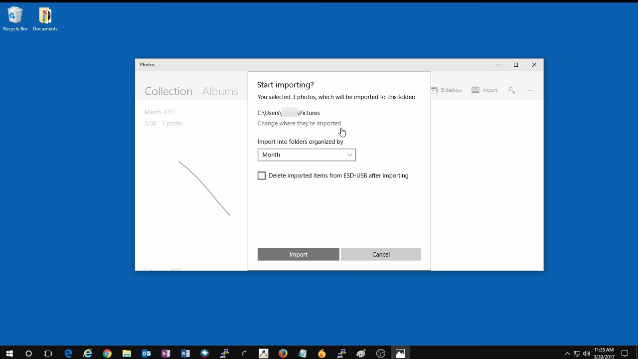 How to Import Photos with the Photos App from a USB Drive or SD Card in  Windows 10