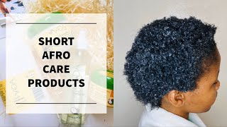 How to choose natural hair products| How to wash natural short hair| South African youTuber