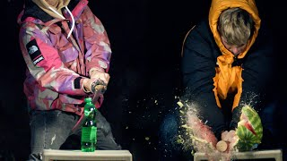 WE ARE DESTROYING THINGS IN SLOW MOTION (5500 FPS)!