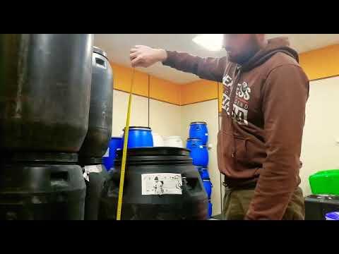 Обзор бочки на 260 литров из под огурцов