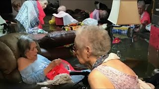 Startling Image of Flooded Texas Nursing Home Prompts Rescue | NBC Nightly News