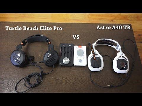 Turtle Beach Elite Pro vs Astro A40 TR: Battle of the Titans!!!