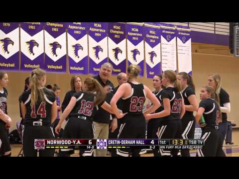 High School Girls Basketball: Norwood-Young America vs. Cretin-Derham Hall