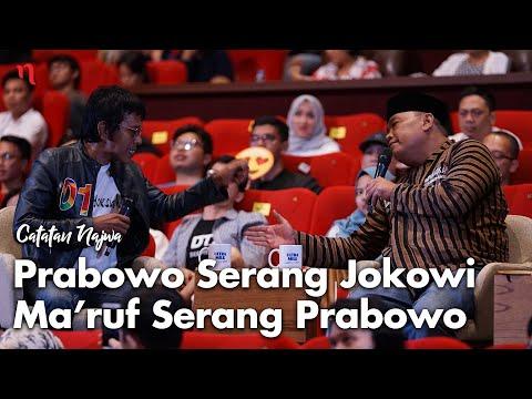 Nobar Debat Pilpres: Prabowo Serang Jokowi, Ma'ruf Serang Prabowo (Part 6) | Catatan Najwa