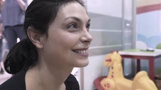 Morena Baccarin visitando Colombia