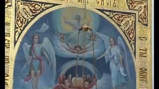 В храме на улице Гамарника идет роспись Порт-Артурской иконы Божьей Матери(, 2014-06-04T05:36:08.000Z)