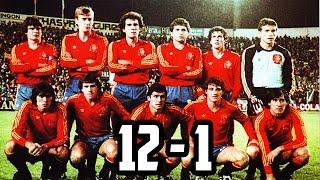 España 12 vs Malta 1/ Resumen