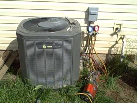 hook up hvac