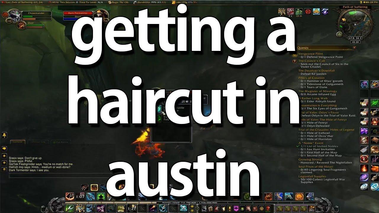 Getting A Haircut In Austin Youtube