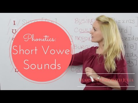 Short Vowel Sounds: IPA / Phonetics - English Pronunciation Class