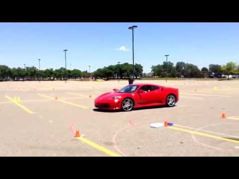 Motorsports Lab Lamborghini Gallardo autocross @ Montcalm Community College 6/18/16