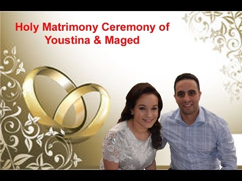 Holy Matrimony of Youstina and Maged - St. Abraam Coptic Church, NY - 2018-07-15