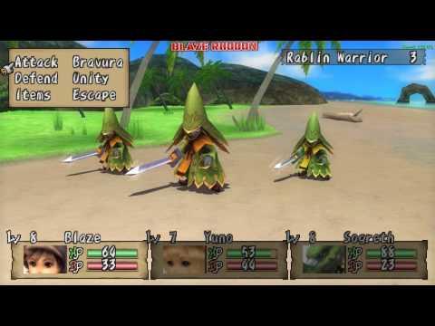 Brave Story: New Traveler (PSP) Walkthrough Part 5 Lyris (becoming Highlanders 1/2)
