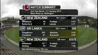 Day four - first session action; NZ v Sri Lanka