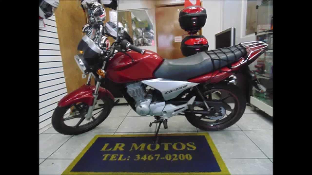 lr motos revis o de moto honda titan 150 sport vermelha 0771 youtube. Black Bedroom Furniture Sets. Home Design Ideas